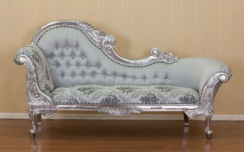 Marvelous French Chaise Silver Leaf 941 Beaufort Street Inglewood WA Perth · Perth Burlesque