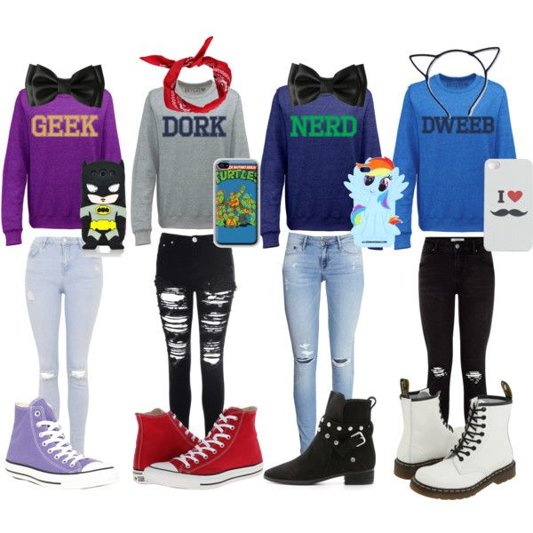tumblr nerd outfits by pastelhearts on polyvore featuring