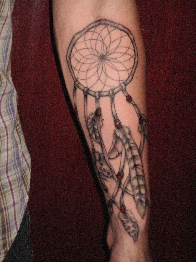 Forearm Dream Catcher Tattoo : forearm, dream, catcher, tattoo, Dream, Catcher, Tattoo,, Tattoos, Guys,, Dreamcatcher, Tattoo