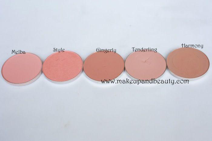 MAC peach Blush Swatches | Beauty hair nail | Pinterest ...
