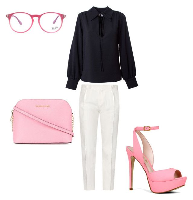 """""""Minimalist"""" by anna-adamek on Polyvore featuring moda, Tod's, See by Chloé, ALDO, MICHAEL Michael Kors i Ray-Ban"""