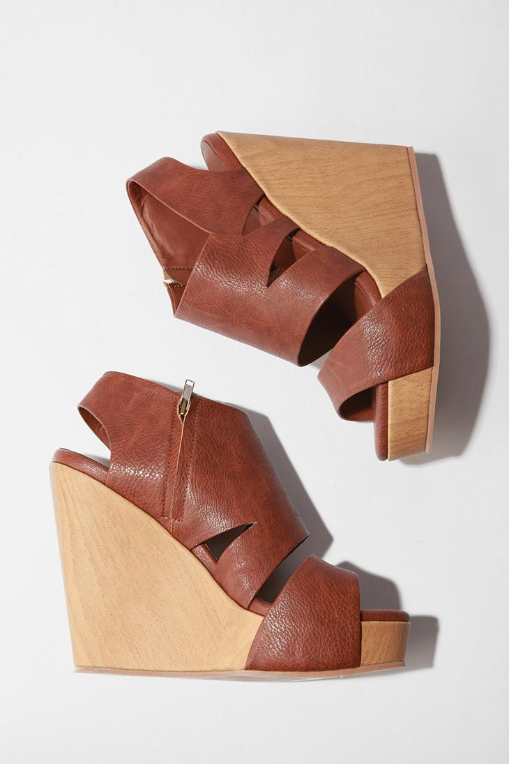 Wedges from Urban Outfitters #sandals #wedge #style $88