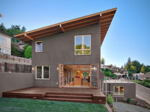 Inverness Contemporary Exterior Seattle David Neiman Architects