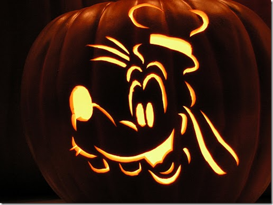 Mickey mouse and friends pumpkin carvings