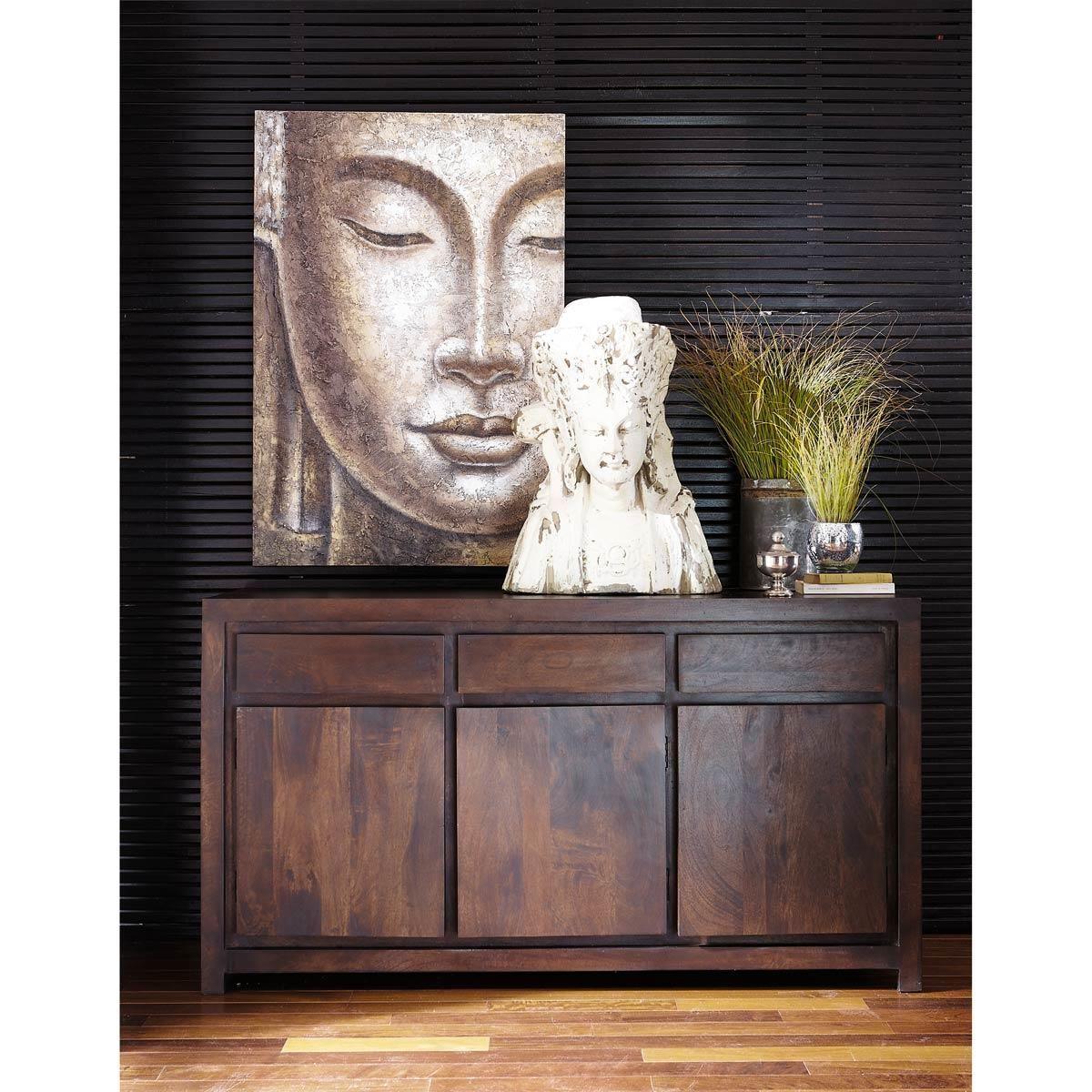 Toile Bouddha impérial | Maisons du Monde | Indoor | Pinterest