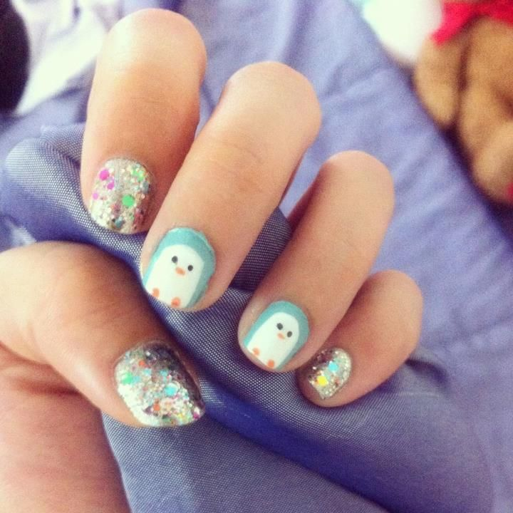 awesome simple nail art design