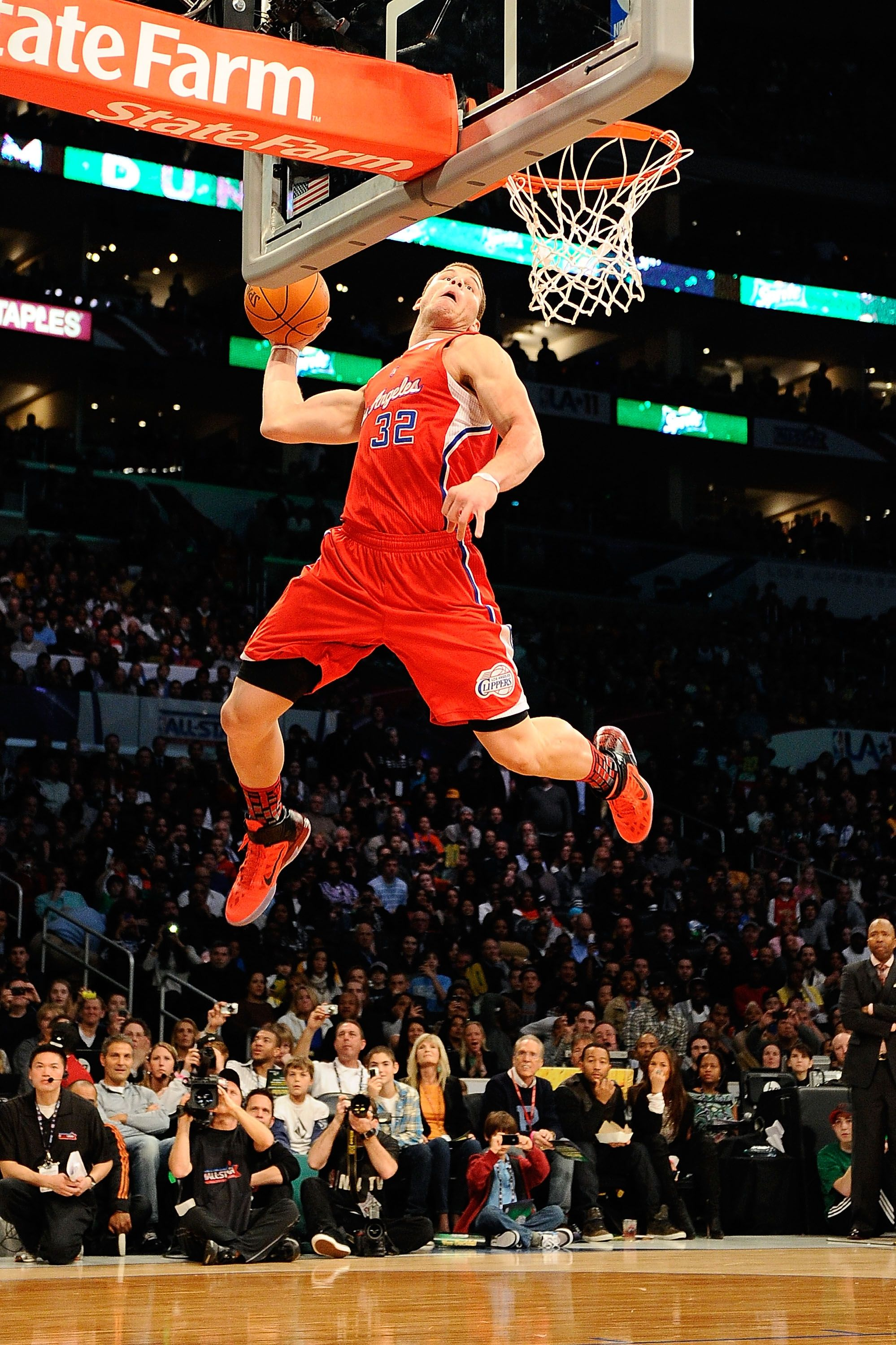 new concept 8d855 9370b Blake Griffin   Monstrous Dunks and Plays   Griffin nba, Basketball ...