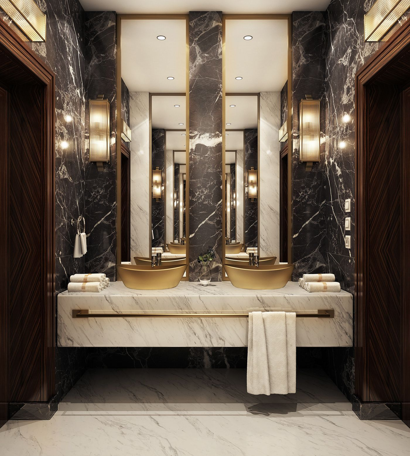 Fresh contemporary and luxury bathroom design ideas for your home