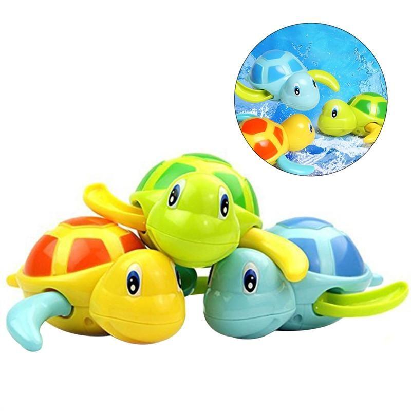 3 Pcs Baby Bath Time Fun Turtle Plastic Bathtub Toys | Products ...