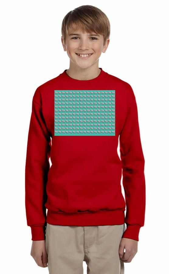 Elephants Youth Sweatshirt