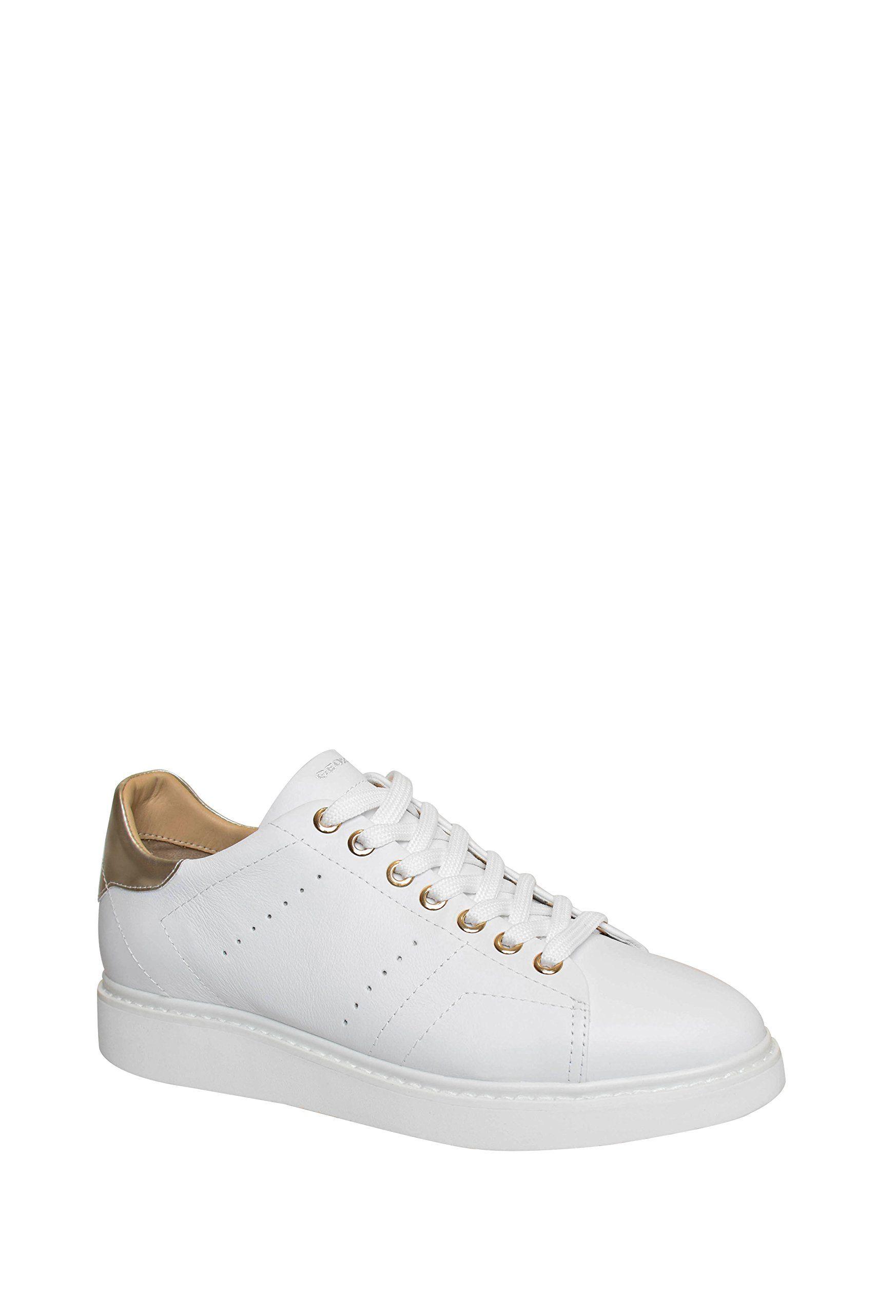 Geox Thymar Low Top Sneaker - White