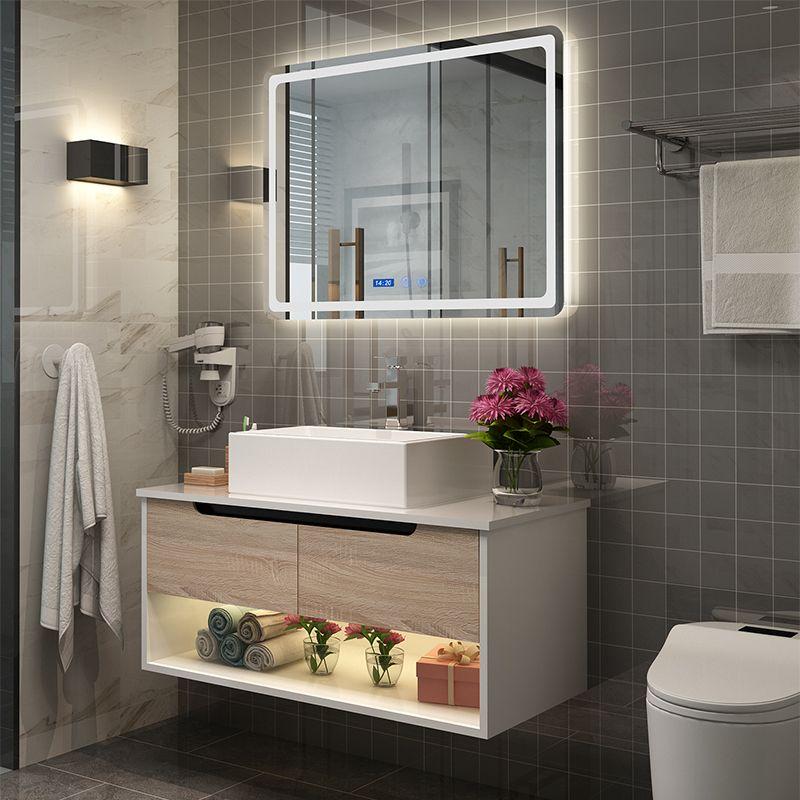 现代简约浴室柜北欧卫生间洗漱台洗脸盆组合厕所洗手盆卫浴挂墙式 淘宝
