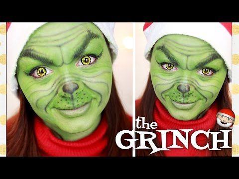 The Grinch Makeup Tutorial Allyemxmas You Christmas