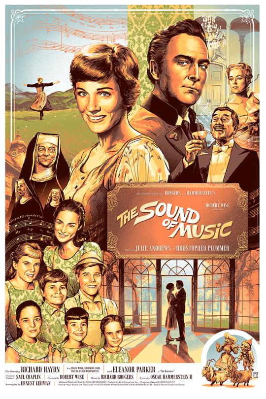 The Sound Of Music By Aurelio Lorenzo Sound Of Music Movie Sound Of Music Musical Movies