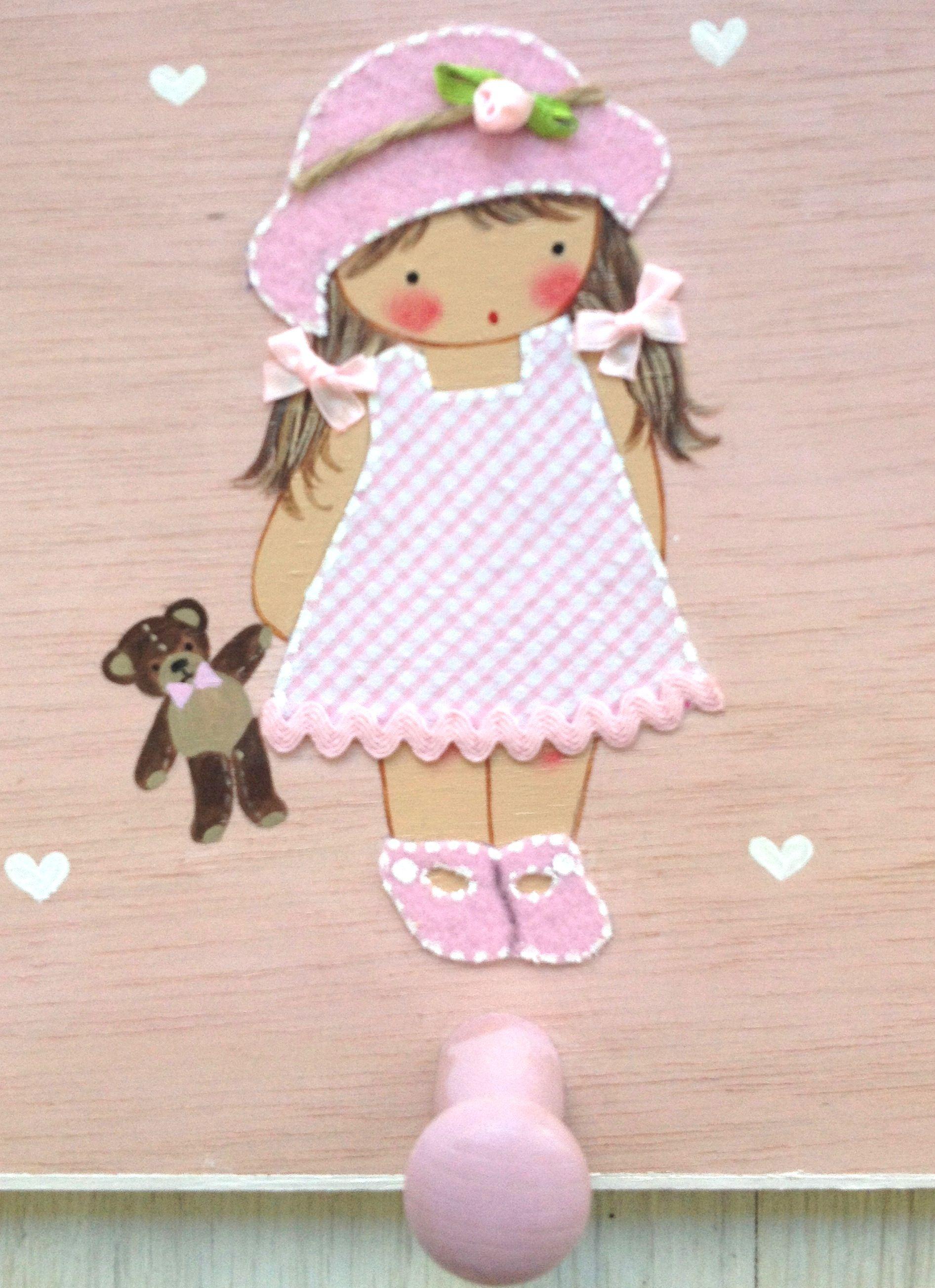 Percheros artesanales y personalizados www - Cuadros artesanales infantiles ...