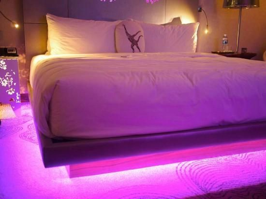Image Result For Led Lights Decoration Ideas Room Led Beds Led Lighting Bedroom Under Bed Lighting