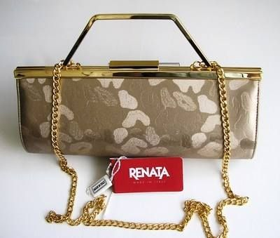 Renata Designer 3 Way Bag Brocatto Beige Mother Bride