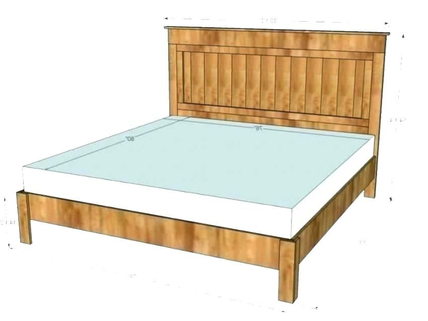 Full Size Bed Headboard Dimensions, Width Of Headboard For Queen Size Bed