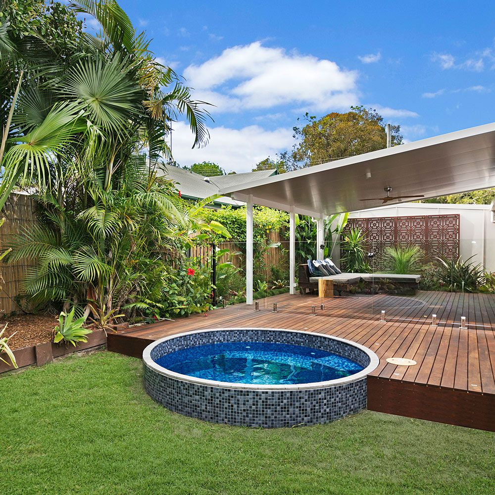 Plunge Pools Sunshine Coast Brisbane Gallery Round 10 Plunge Pool Small Pool Design Pool Landscaping