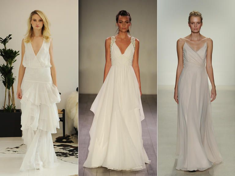 Beautiful The Top Wedding Dress Trends From Fall Bridal Fashion Week
