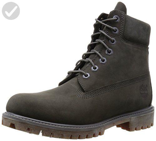 UK Shoes Store - Timberland - 6 Inch Premium Boot CA114K gray Gray