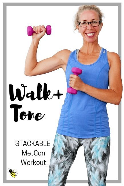WALK + TONE MetCon | 10 Minute Total Body STACKABLE Fat Loss Workout • Pahla B Fitness