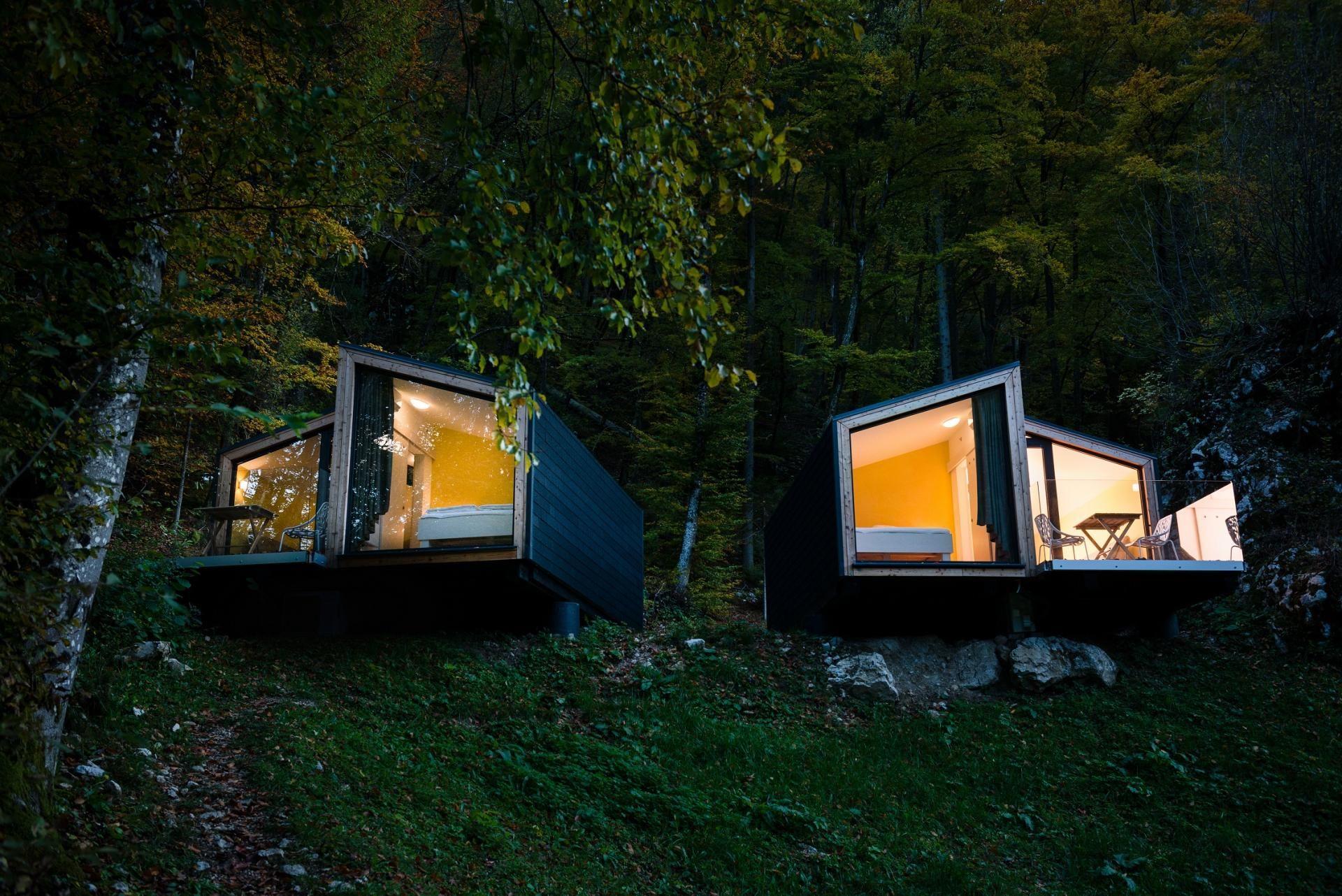 Mini Chalet En Bois une maison préfabriquée écologique en bois | prefab cabins