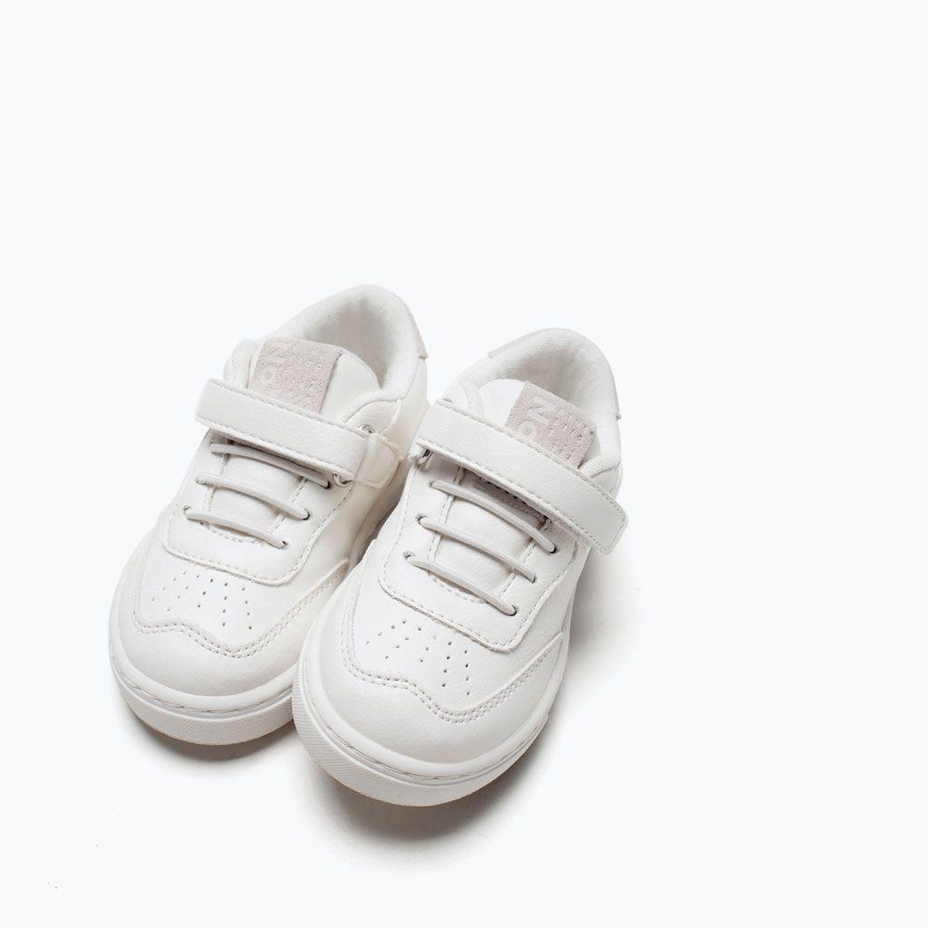 Zara Obuwie I Torby Modne Buty Sportowe Con Imagenes Zapatos Para Bebe Nina Moda Bebe Zapatillas