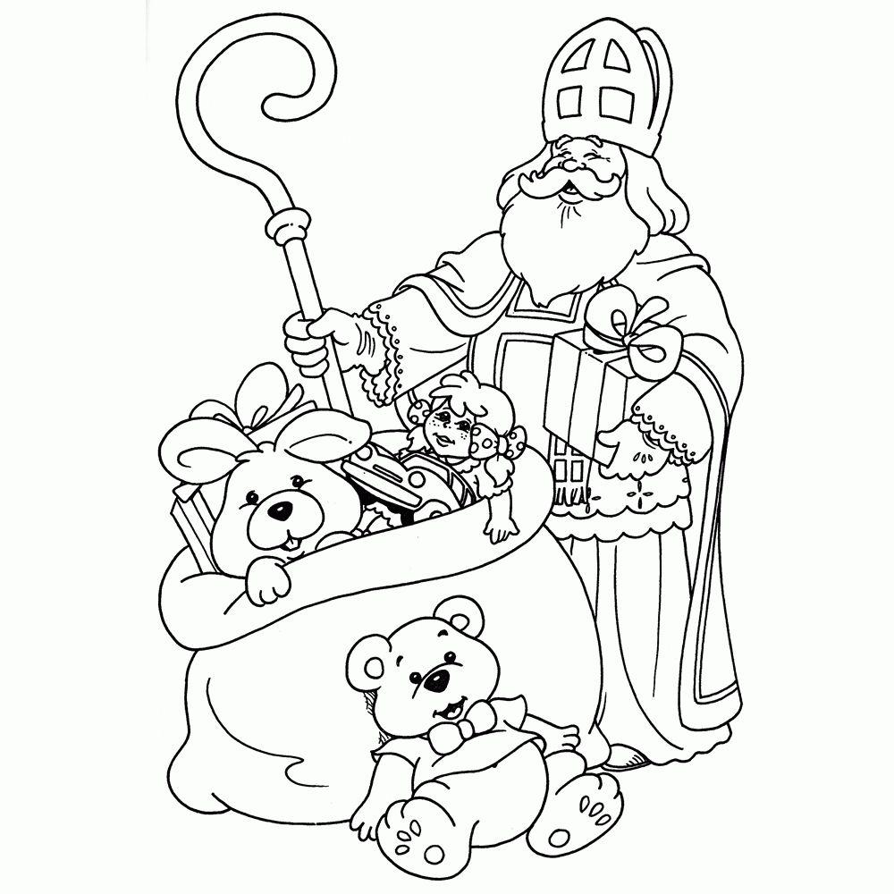 Sinterklaas Kleurplaten 2018 We Hebben Er Wel Meer Dan 70 Nieuwe Kleurplaten Sinterklaas En Paard 20 Beste Kle St Nicholas Day Saint Nicholas Coloring Pages