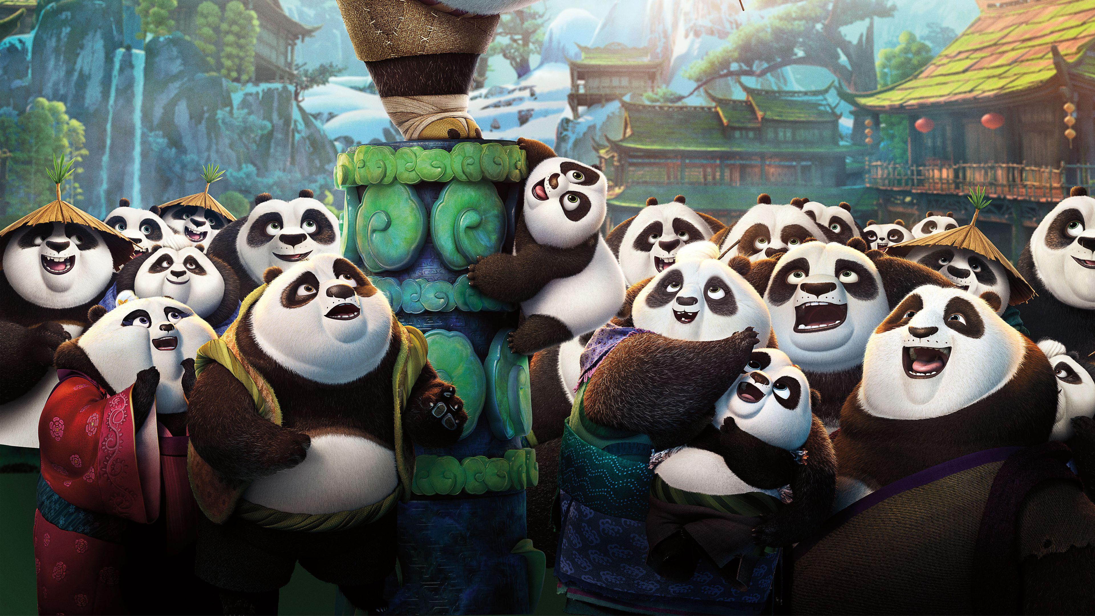 Download 2016 kung fu panda 3 wallpaper best wallpapers