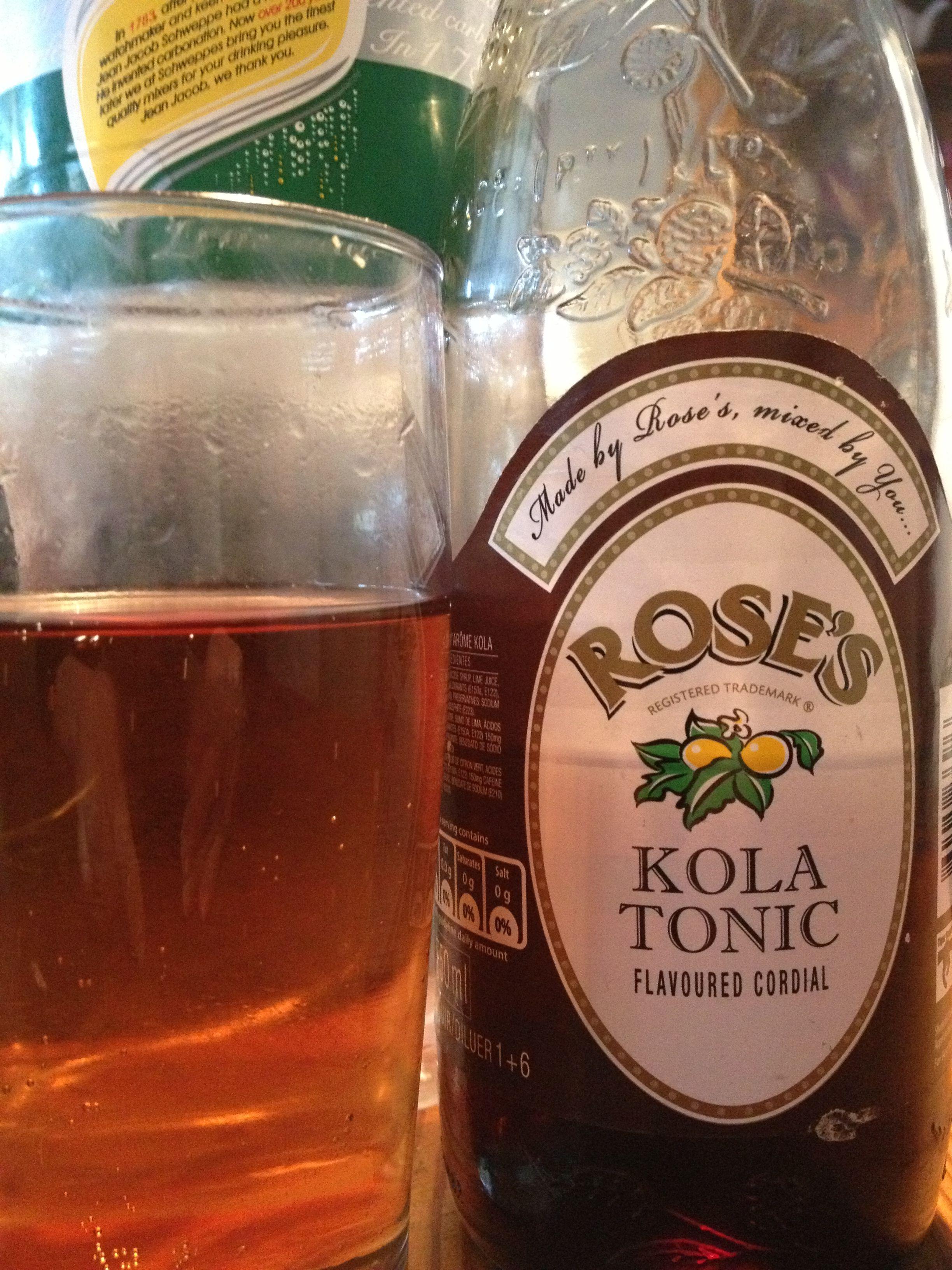 KOLA TONIC & LEMONADE - Refreshing non-alcoholic drink, enjoyed in
