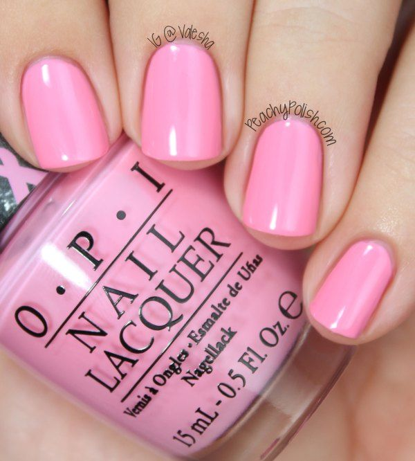 OPI Pink-ing Of You | Manicure and Pedicure | Pinterest