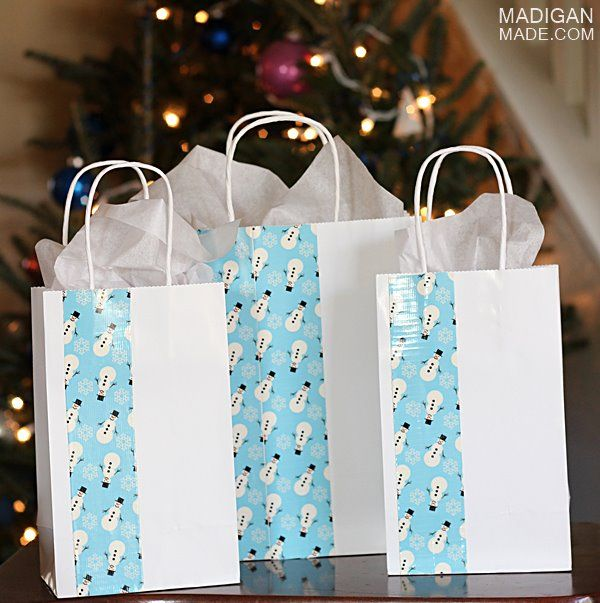 Easy DIY Gift Bags Madigan Made Simple Ideas