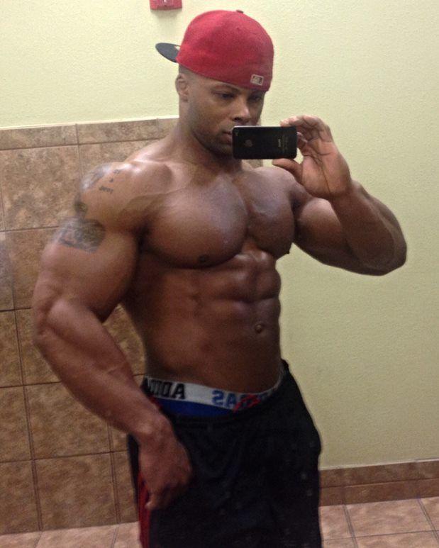 black muscle dick