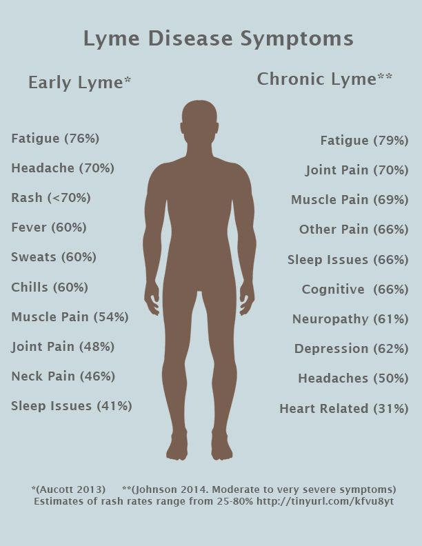 Could Your Chronic Pain Be From Lyme Disease | Lyme ...
