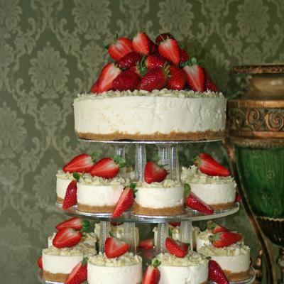 3 tier wedding cheesecake Google Search Cake Pinterest