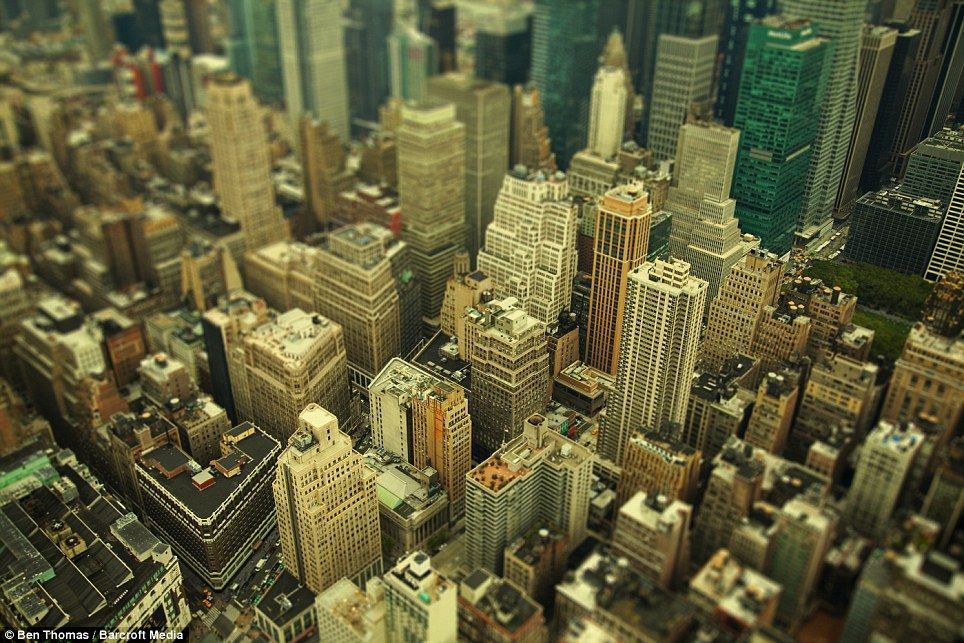 The incredible shrinking cities New York, London, Tokyo
