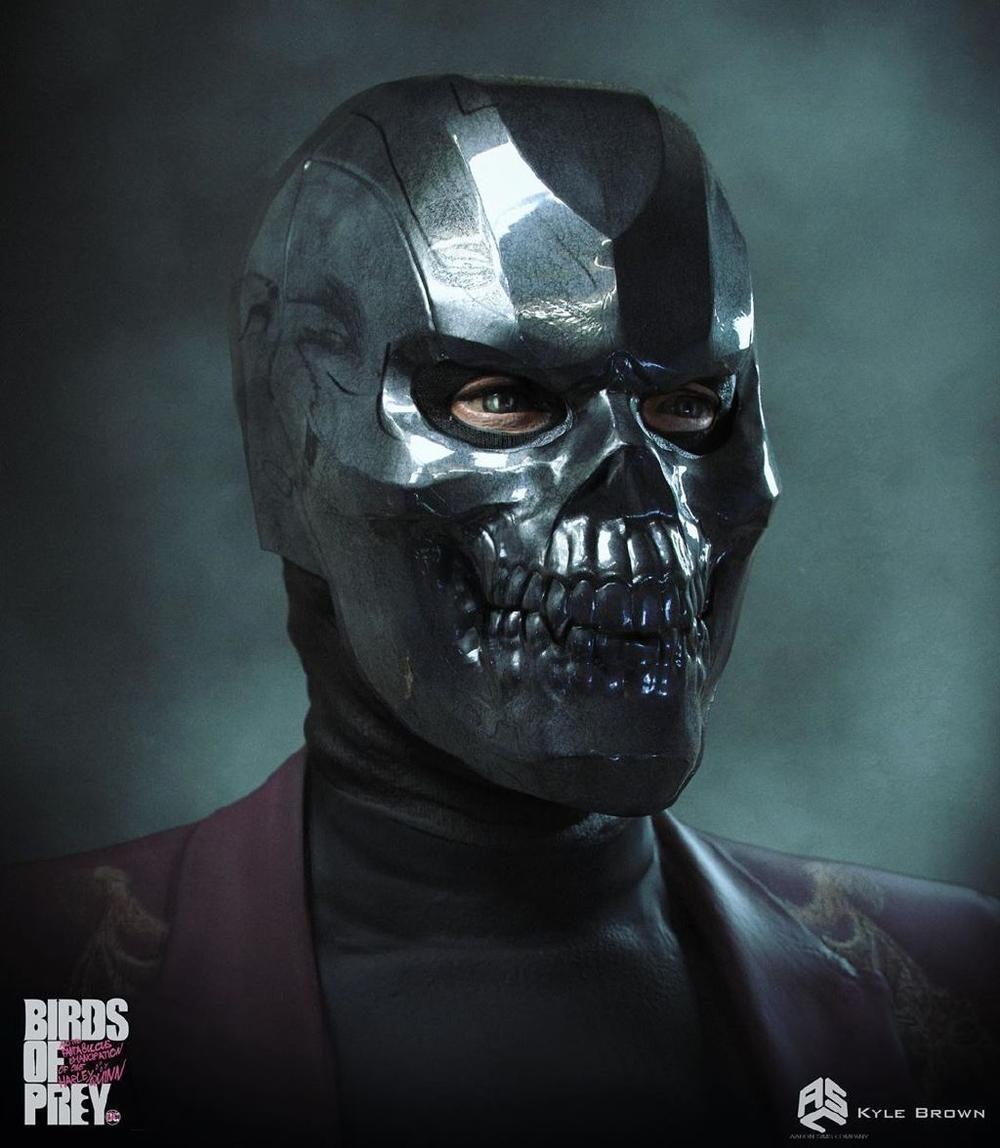 Black Mask Birds Of Prey In 2020 Birds Of Prey Mask Design Black Mask
