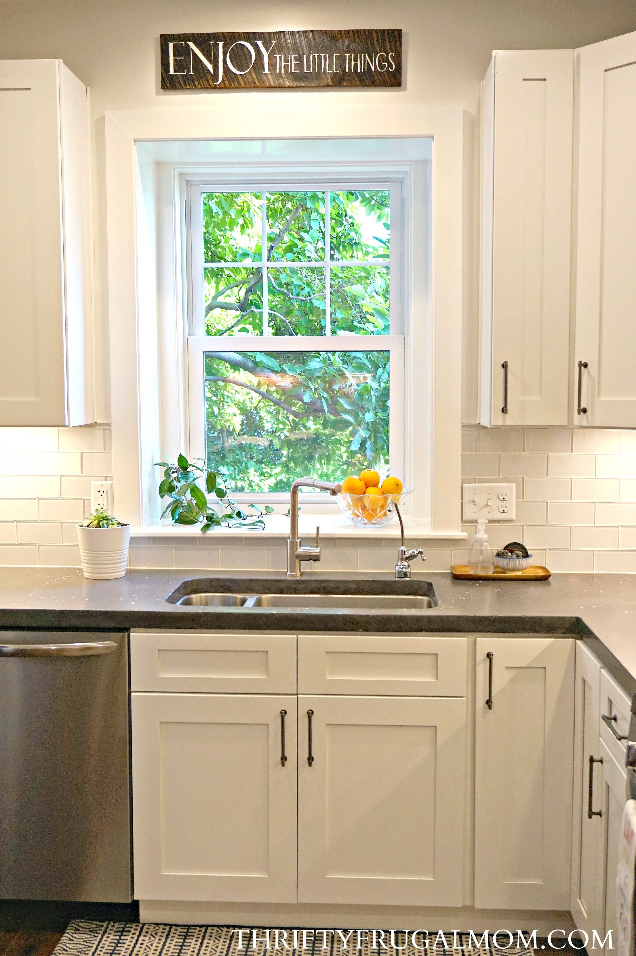 Get all the details on our budget friendly kitchen remodel find out