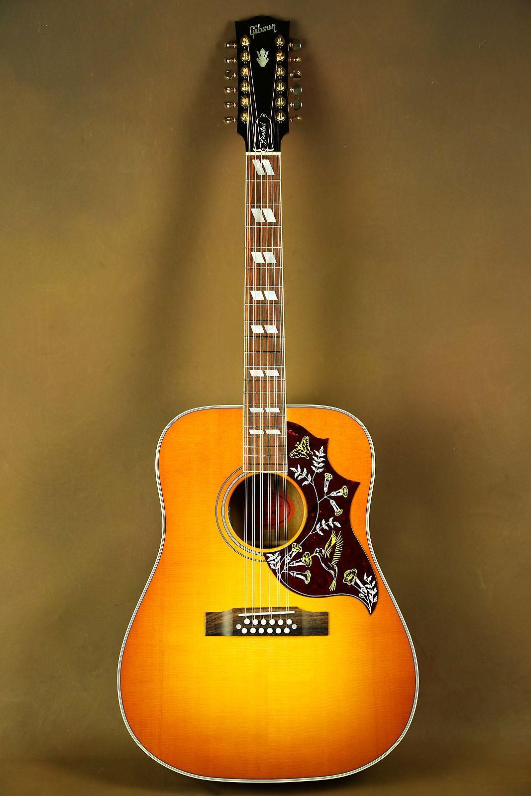 a905ccdaa09 Gibson Hummingbird 12-string Heritage Cherry Sunburst Acoustic Guitar