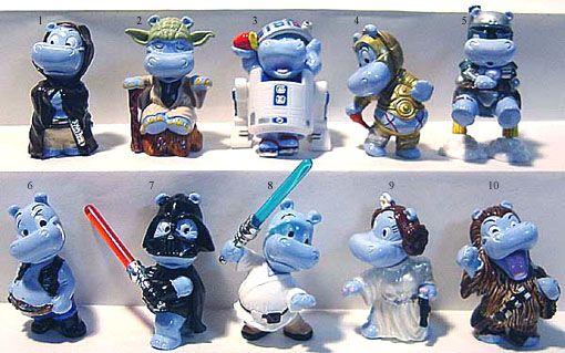 Hippo Star Wars Kinder Surprise This Is A Real Thing Im