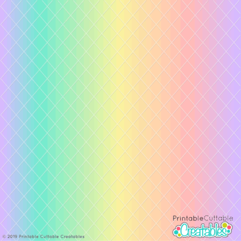 Free Svg Files For Cricut Silhouette Printable Cuttable Creatables Printable Paper Patterns Pastel Rainbow Pastel Rainbow Background