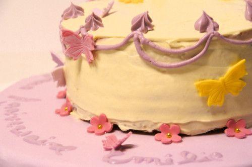 Gâteau d'anniversaire d'Emilie