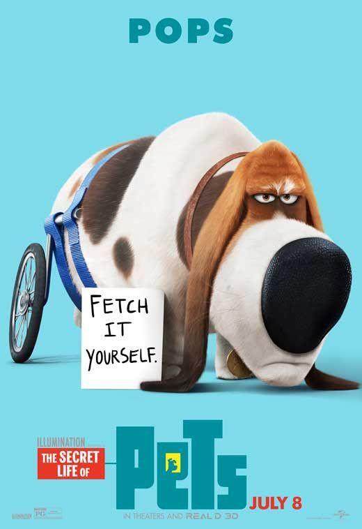 The Secret Life Of Pets 2016 27x40 Movie Poster With Images Pets Movie Secret Life Of Pets Pet Pop
