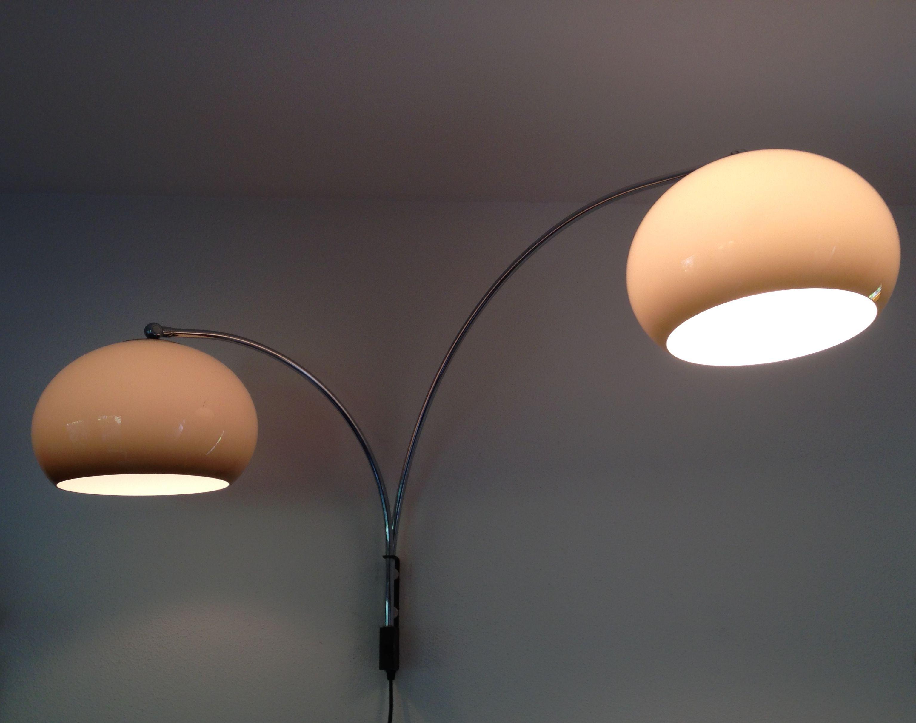 Retro wandlamp Retro booglamp Vintage wall lamp Dijktra
