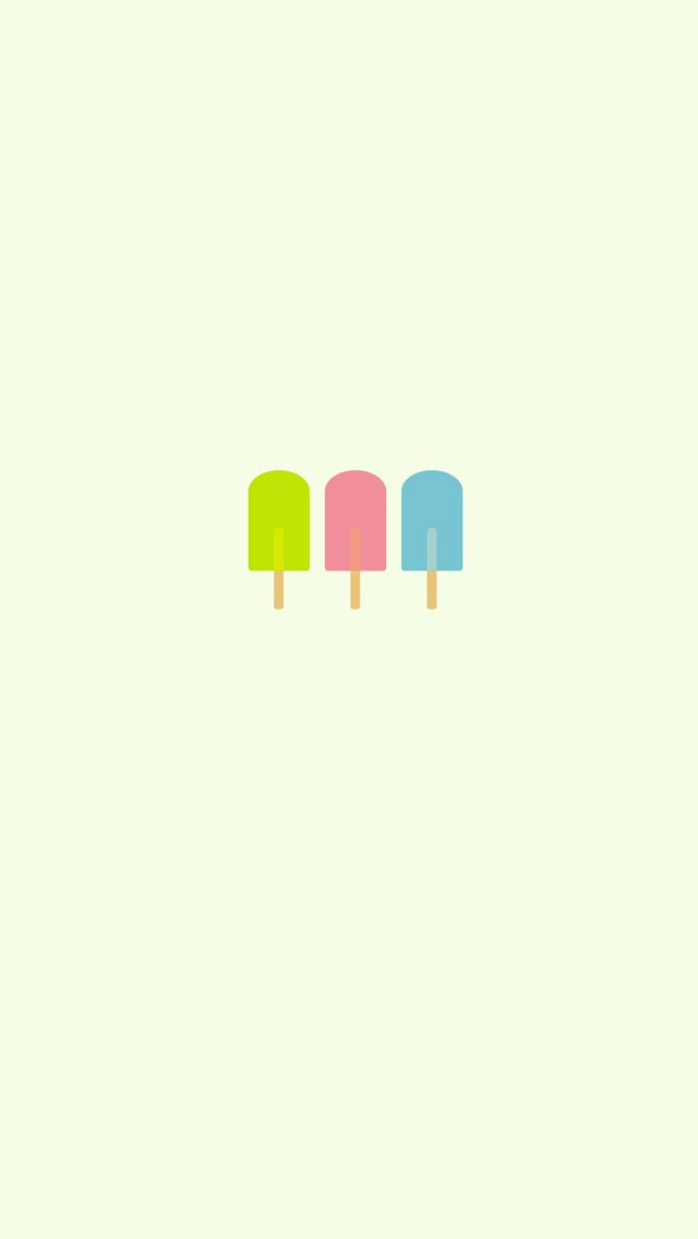 Ice Pops Iphone Background Free 640x1136 Pixels