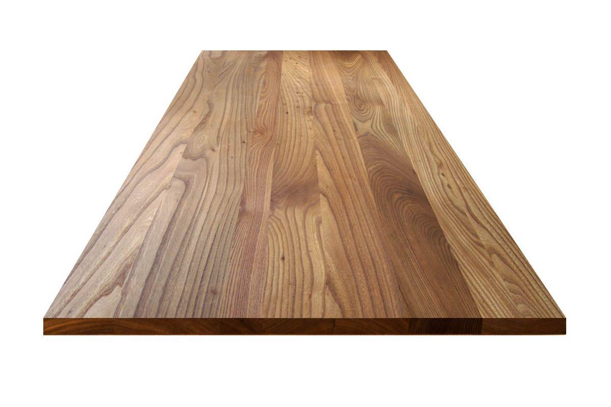 Massivholz Tischplatte In Ulme Von Mbzwo Massivholz Tischplatte Tisch Massivholz Arbeitsplatte