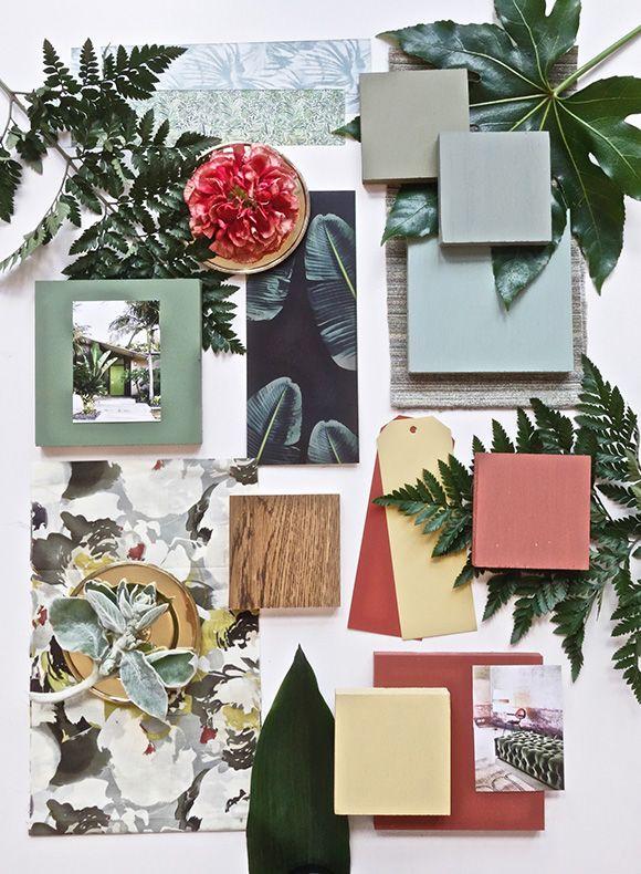 My June Mood Board For Farrow&Ball: The Jungle Theme ...