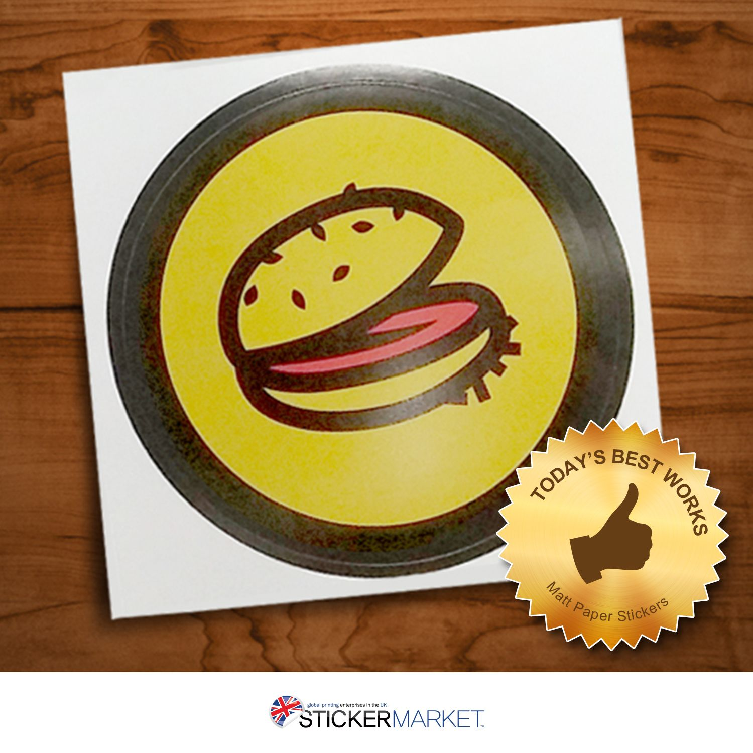 Matt Paper Food Stickers! Ideal for scrap booking, designs and collections.  We are on Great STICKER SALE. Order now and get free 1000 stickers. Get quote now - http://goo.gl/oyIfF7  #food #hungry #miniburger #burger #mattpaperstickers #mattstickers #paperstickers #matt #stickers #labels #greatstickersale #sale #branding #customstickers #customlabels #stickerprinting #stickershop #onlineshop #online #stickermarket #cheapstickers #freedelivery #freeartwork #UKstickers #Londonstickers #UK…