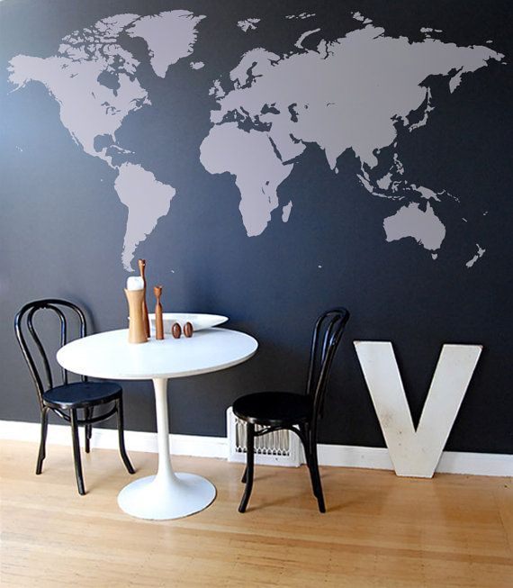 World map decal 787 w by worldmaps on etsy 9800 love world map decal 787 w by worldmaps on etsy gumiabroncs Gallery